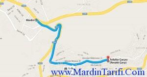 Mardin Revaklı Çarşı yolu