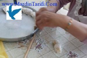 Mardin Burması tatlı tarifi 3
